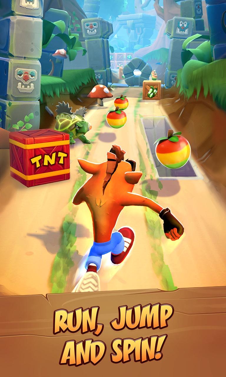 Una nuova avventura di Crash Bandicoot su mobile